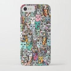 Gemstone Cats iPhone 7 Slim Case