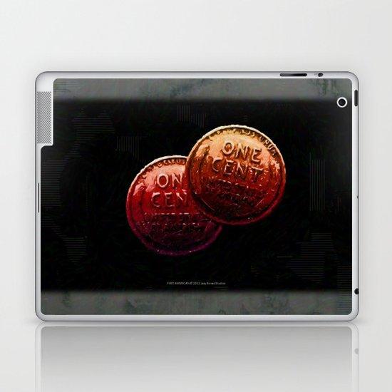 Just My 2 Cents    0008 Laptop & iPad Skin