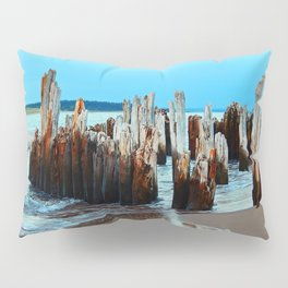 Beach Relics of a Time Gone By Pillow Sham