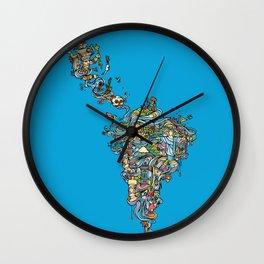 Latin America Wall Clock