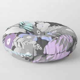 Tropical sombre Floor Pillow