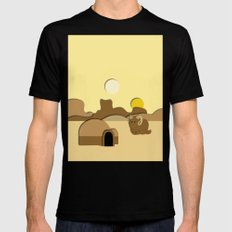 Tatooine MEDIUM Black Mens Fitted Tee