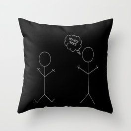 Nice Shoes Throw Pillow