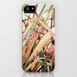Lopez Grass iPhone Case