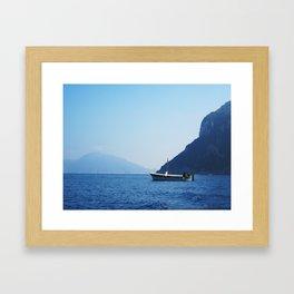 Fisherman of Capri Framed Art Print