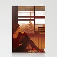enjolras Stationery Cards featuring Enjolras by rdjpwns