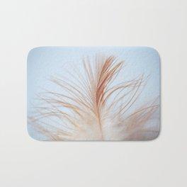 FEATHER cream look - animal colletion Bath Mat