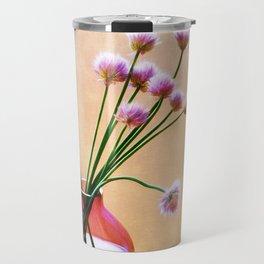 Painted Chives Travel Mug