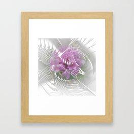 flower design -9- Framed Art Print