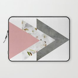Blossoms Arrows Collage Laptop Sleeve