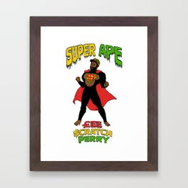 Super Ape Framed Art Print