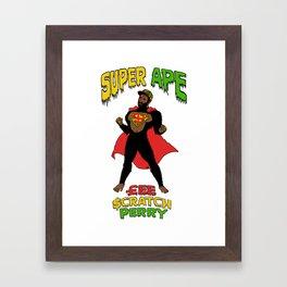Super Ape Framed Art Print