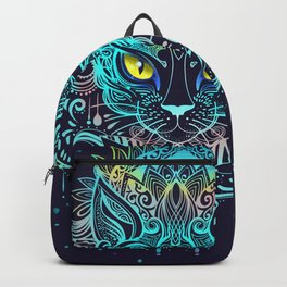 Cat Mandala Backpack