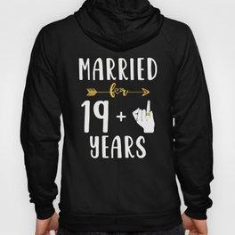 20th 20 year Wedding Anniversary Gift Married Husband Wife graphic Hoody