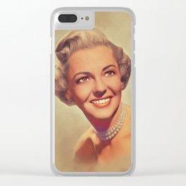 Vivian Blaine, Vintage Actress Clear iPhone Case