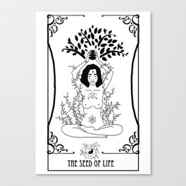 The Seed of Life Canvas Print