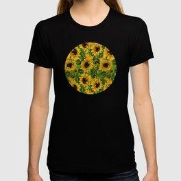 Vintage & Shabby Chic - Vincent's favorite flowers T-shirt