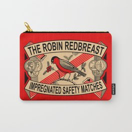 The Robin Redbreast Safety Matches Carry-All Pouch