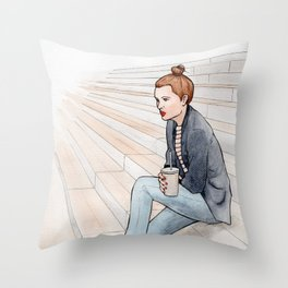 BnF - BFM* Throw Pillow