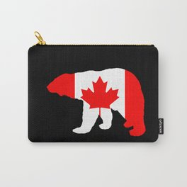 "Polar Bear ""Canada"" Carry-All Pouch"
