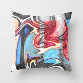 SNARL - BLACK Throw Pillow