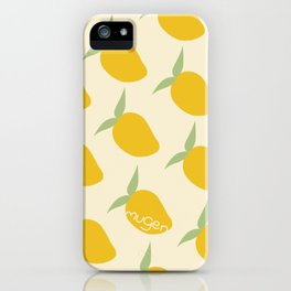 Fresh and bright iPhone Case