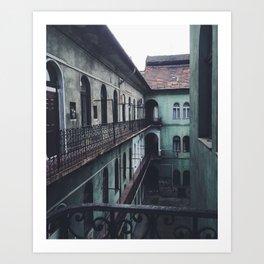 Courtyard Escape Art Print