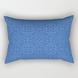 Blueque Rectangular Pillow