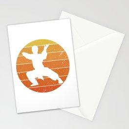 Martial Arts Vintage Design Stationery Cards