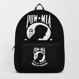 POW MIA - Prisoner of War - Missing in Action flag Backpack