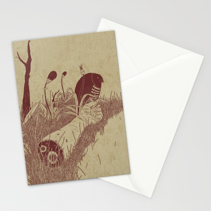 Helvete Forest Stationery Cards