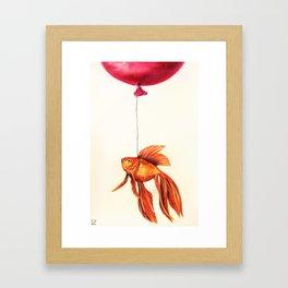 Dream About Flying Framed Art Print