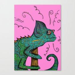Cheswick Chameleon Canvas Print