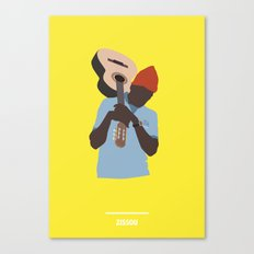 ZISSOU ( The Life Aquatic ) Canvas Print