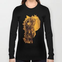 Riot lion logo noir colors urban fashion culture Jacob's 1968 Paris Long Sleeve T-shirt