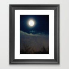 Symphony of Moon Framed Art Print