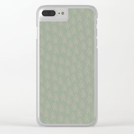 Tree tops from above Clear iPhone Case