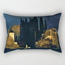 Island Of The Dead - Arnold Bocklin Rectangular Pillow