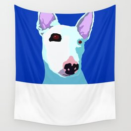 Bull Terrier Wall Tapestry