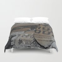 swedish Duvet Covers featuring Swedish ashes by ilsephilips