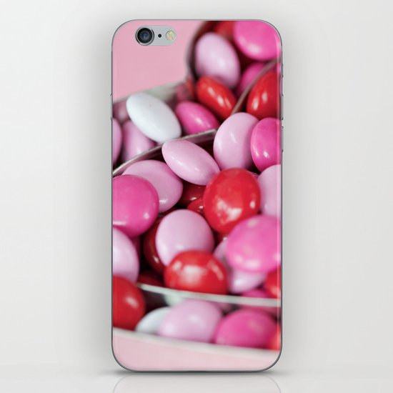 There is a heart in the center of every good thing. iPhone & iPod Skin