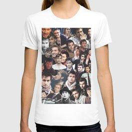 David Tennant collage T-shirt