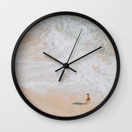seashore / lagos, portugal Wall Clock
