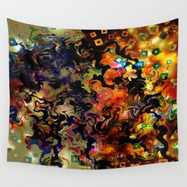 Waves of Vision Wall Tapestry