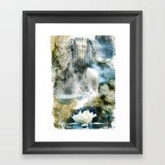 She. Framed Art Print