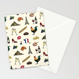 French pattern Stationery Cards