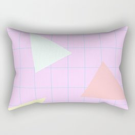 80s Neon 1 Rectangular Pillow