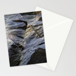 Slate fracture Stationery Cards
