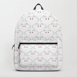 Joyeux Noël Weimaraner multi Backpack