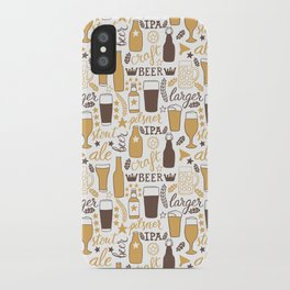 For beer lovers iPhone Case
